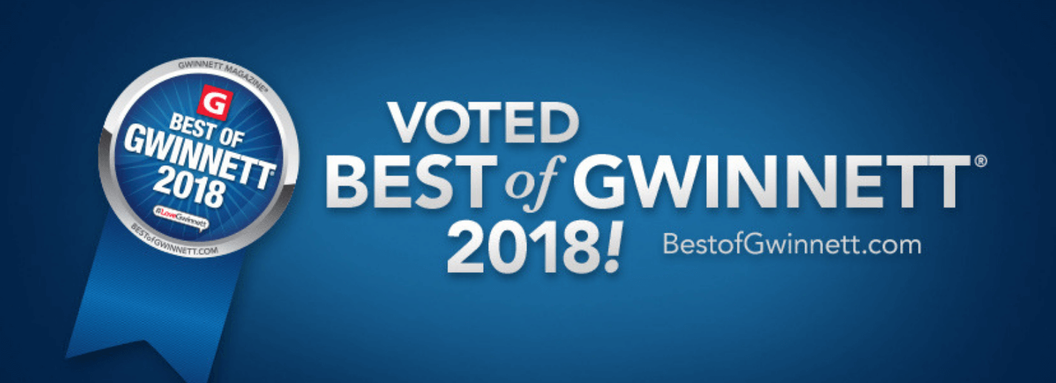 GA Vet voted Best of Gwinnett!